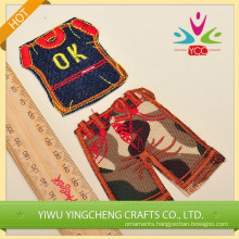 2014 new product handicraft cloth sticker