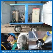 Bomba elétrica de alta pressão da limpeza da tubulação da arruela industrial da limpeza