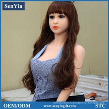 148cm 26kg Non-Inflatable Silicone Real Sex Dolls Adult Products