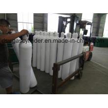 Cylindre sans couture à hautes pressions de l'acier Sf6 de 40L avec l'hexafluorure de soufre de la pureté 99.99%