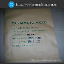 Ácido Dl-málico de alta calidad de polvo fino en reguladores de acidez