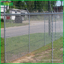 2016 high quality chain link fence razor barbed wire fence metal