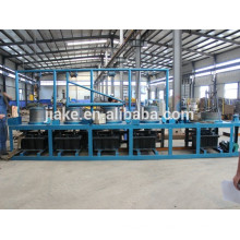 Complete automatic simple pulley steel wire coil production line