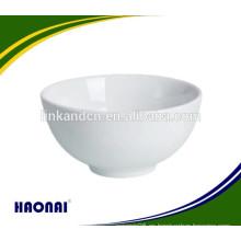Tazón de fuente de la porcelana de la porcelana blanca del precio de fábrica para el restaurante