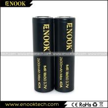 Enook 2600mAh 40α E-cig μπαταρίας