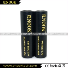 Enook 18650 40 a rechargerble batterie