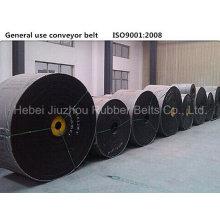 Banda transportadora de uso general algodón lona goma
