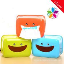 Smile Design Bunte Kunststoff Tissue Box (ZJH004)