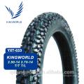 types différents de haute qualité en gros de pneu de moto
