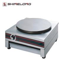 K245 Máquina de crepe elétrica de mesa de placa 1 para venda