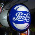 Restaurant retail round Light Box