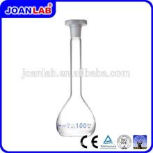 JOAN Lab Frasco volumétrico de vidrio borosilicato, Cristalería de laboratorio
