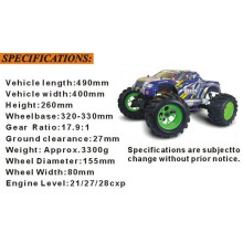 Gift 1/8th Scale RC Car Nitro Monster Truck 94083