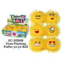 11cm Flashing Puffer Yoyo Ball Toy