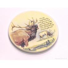 Coasters de cerámica, absorben el agua