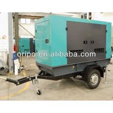 Générateur diesel de remorque 25kva pour l'Indonésie avec moteur de marque célèbre et alternateur