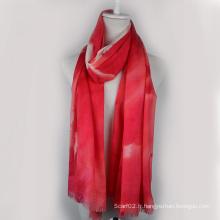 Écharpe en laine soluble dans l'eau (13-BR310302-1.3)