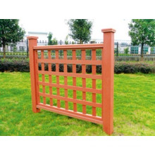 1200*1120 Eco-Friendly Cheap Outdoor WPC Fence