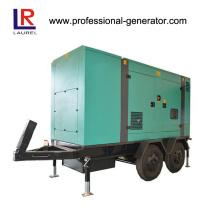Gerador de energia portátil diesel silencioso 200kw / 250kVA com ATS