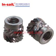 China Fastener Fabricante Aço inoxidável Insere porca para telefone Shell