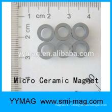 Хорошее качество профессиональный неодимовый миниатюрный микро-кольцевой магнит