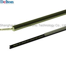 DC24V 4.8W LED Gabinete Luz de la tira rígida con la cubierta