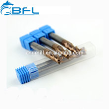 BFL Tungsten Carbide Flat Endmill, Square End Mill Cutting Tools For Metal