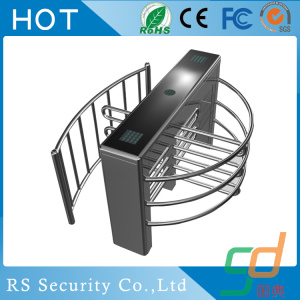 Security Passage Gate Half Height Entrance Turnstile
