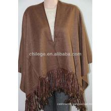cashmere pashmina shawls wraps with leather fringes