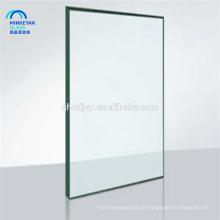 Preço de vidro de espelho de alta qualidade 6mm borda polida para trilhos varanda janela