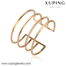 51621- Xuping Newest model cuff bangles women latest designs