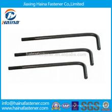 Fornecedores da China Grade4.8 HDG L Tipo Foundation Bolt