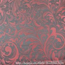 Tissu jacquard en polyester pour doublure en vêtement (JVP6361A)