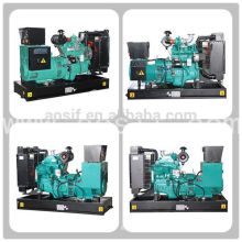 Power by 50KVA/40KW gasoline generator