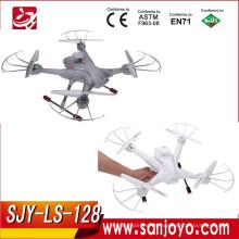 4CH 3D rolling 6-axis Gyro en tiempo real sin cabeza RC FPV Quadcopter Drone con la nueva función de altura de ajuste