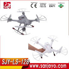 4CH 3D rolling 6-axis Gyro Real-time Headless RC FPV Quadcopter Drone with newest set height function