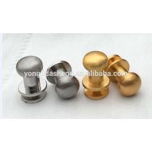 Hardware Factory Accesorios metálicos personalizados Pernos decorativos del metal