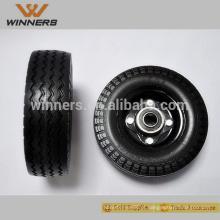 Pneu livre liso do pneu da espuma do plutônio da roda 6x2 da espuma 6x2