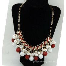 Fashion Alliage imitation cristal perle 94G-400x150x46mm sri lankan collier de mariage des modèles en gros Collier bijoux 09041222