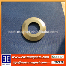 Strong Powerful Neodymium Special Ring Magnet/custom factory grinded ring ndfeb magnet