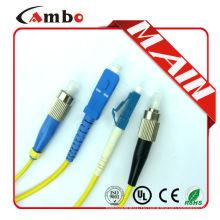 Самая дешевая цена OM2 DX Simplex Fiber Jumper lc pc sc apc patch cord