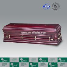 LUXES Full Couch Open Casket Longevity-Lotus Custom Caskets