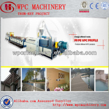floor,decoration,decking,railing,columns,chair,fence,panel etc. WPC wood plastic making machine