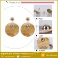 Boucle d'oreille de clou de fantaisie de boucle d'oreille légère de CCB