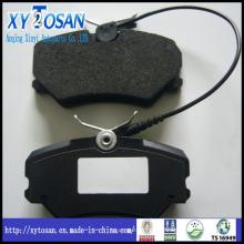 Almofada de freio cerâmica para Peugeot / Benz / Alfa Roma / Audi / BMW / Opel / VW / Porsche / Vauxhall