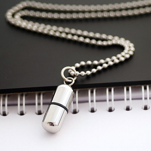 pill pendant for women