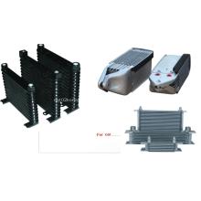 Enfriador de aceite de capas apiladas de aluminio para automóviles y motocicletas