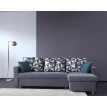 Многофункциональный диван из современной ткани из губки высокой плотности