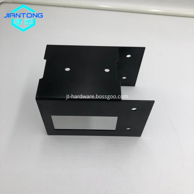 Custom Black Powder Coating Sheet Metal Stamping Parts