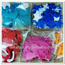 Colorful glitter eva foam sticker